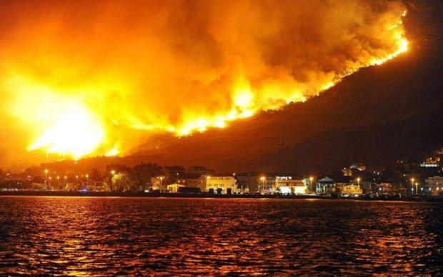 Пожежі в Хорватії і Чорногорії досягли космічних масштабів