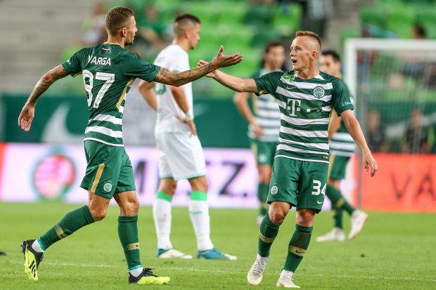 Українець Петряк забив шостий гол за Ференцварош