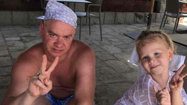 Евгений Кошевой с дочерью, фото: Instagram