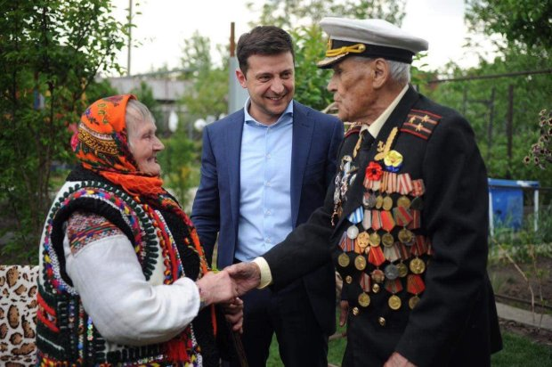 Зеленский поздравил ветеранов Второй мировой