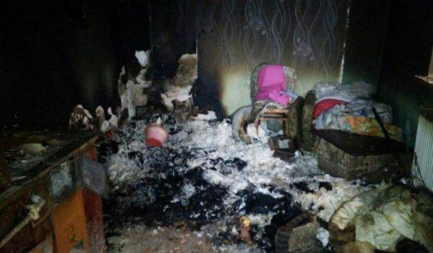 Братья-близнецы сгорели в пожаре на Прикарпатье