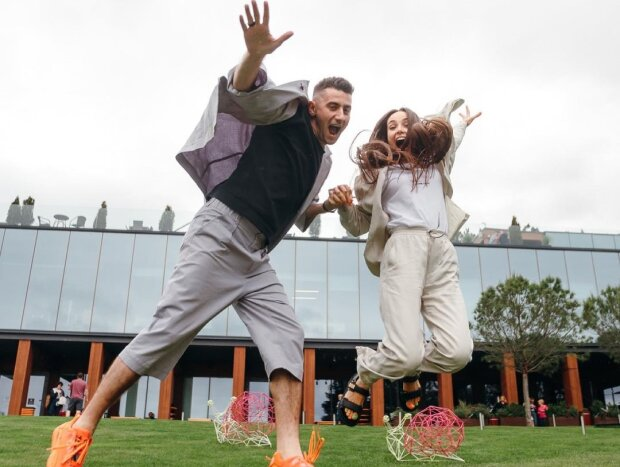 Ксения Мишина и Александр Эллерт, фото с Instagram