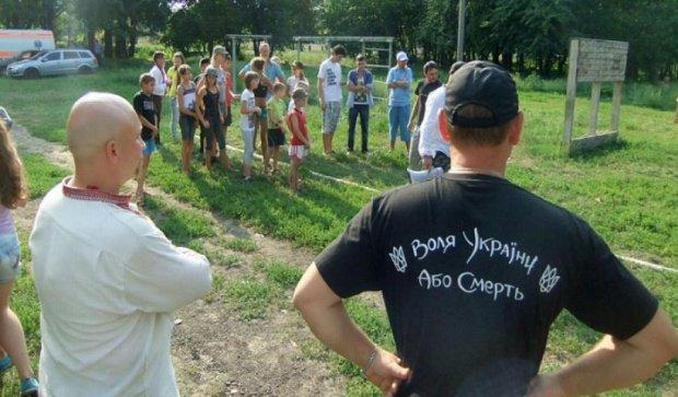 Воины АТО и молодежь поиграли в казаков в Кировограде (фото)