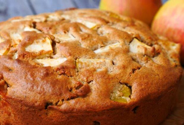 Яблочный пирог, скриншот из видео: Ольга Матвей