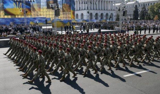 Як це було: паради до Дня Незалежності за 15 років (ІНФОГРАФІКА)