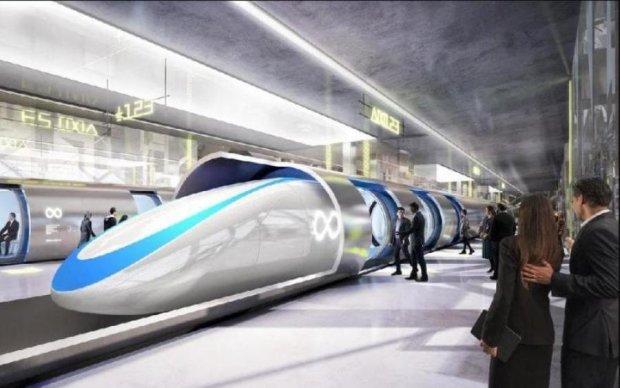 Hyperloop в Украине: озвучена дата запуска поезда будущего