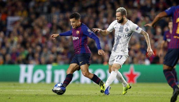 Ліга чемпіонів: Барселона виграла в Інтера та забезпечила собі єврокубкову весну