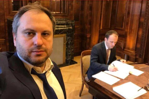 процесс подписания соглашения с Газпромом, фото Facebook