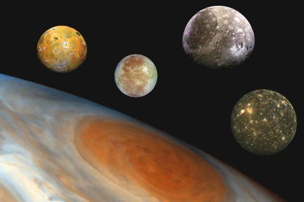 Користувачі Twitter зможуть обрати назви для супутників Юпітера