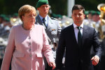Меркель дрожала, как осиновый лист перед Зеленским: конфуз попал на видео