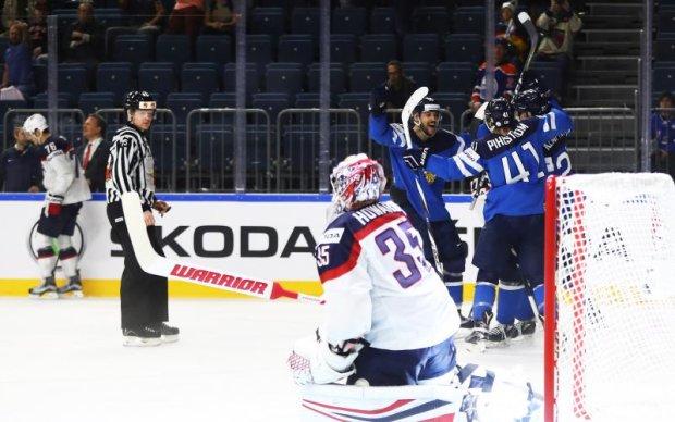 ЧС-2017 з хокею: США сенсаційно поступились Фінляндії та вилетіли з турніру