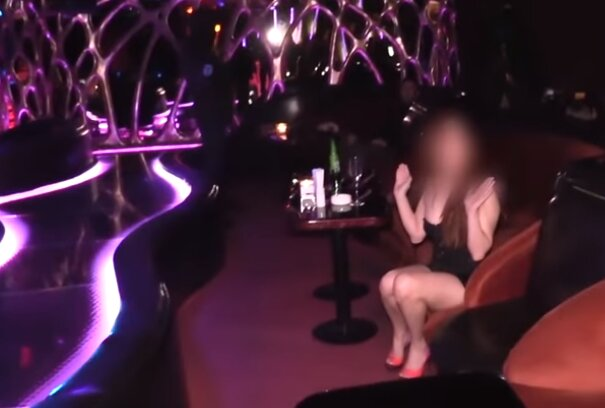 стрип-клуб, скріншот з відео