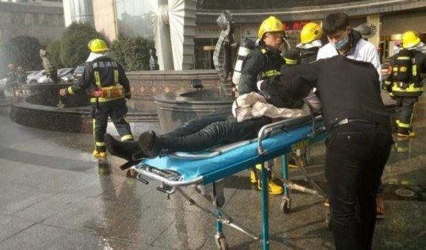 Опубликованы кадры жуткого пожара в Китае