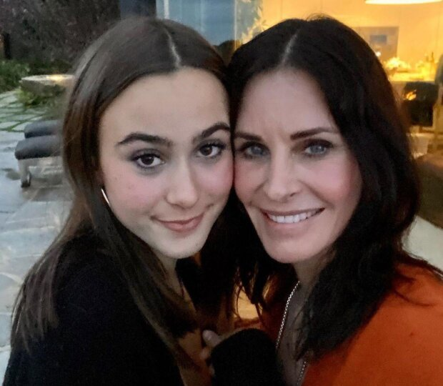 Кортні Кокс з донькою Коко, фото з Instagram