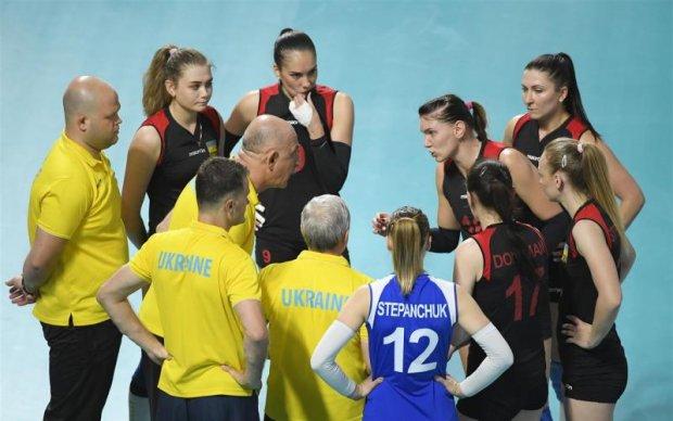 Українські волейболістки виграли перший півфінальний матч Євроліги