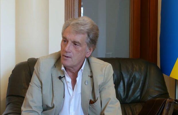 Віктор Ющенко, кадр з відео