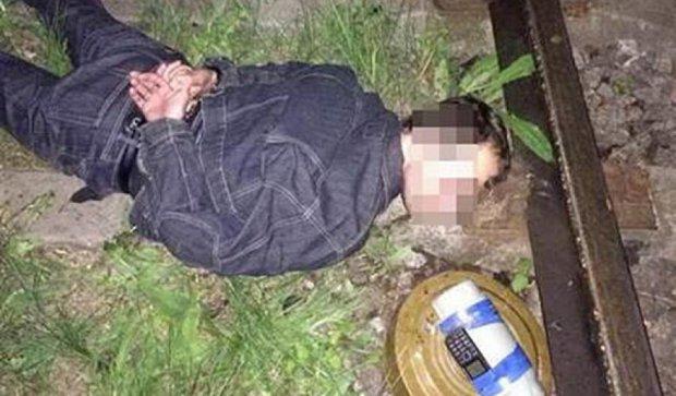 В Харькове задержали диверсанта-подрывника из «ДНР»