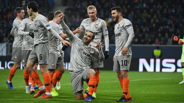 Шахтар запрошує киян на матч з Ліоном у метро: фото