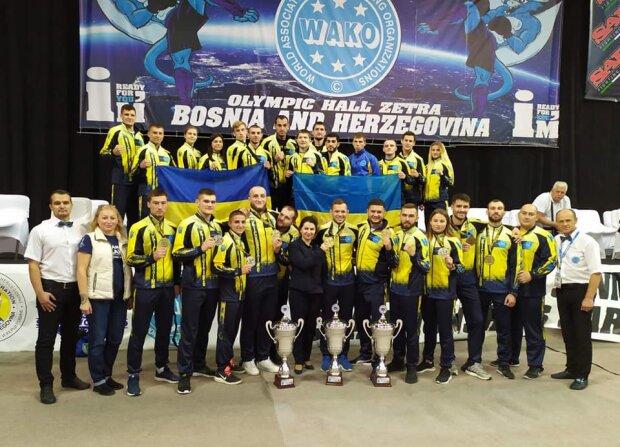 Сборная Украины по кикбоксингу