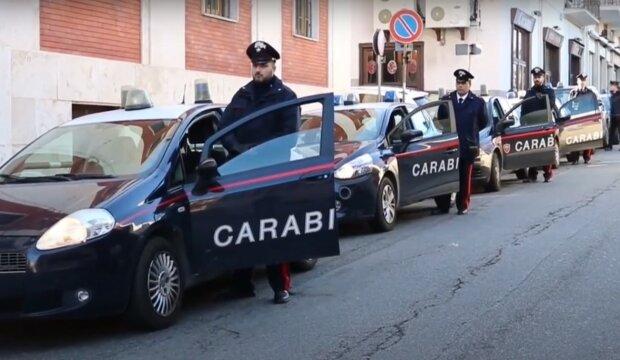Итальянские карабинеры, скриншот видео