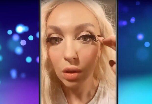 Оля Полякова, скрин с видео