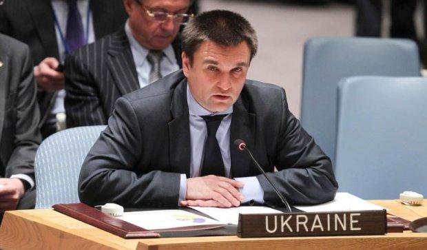 Климкин проведет дебаты в Совбезе ООН