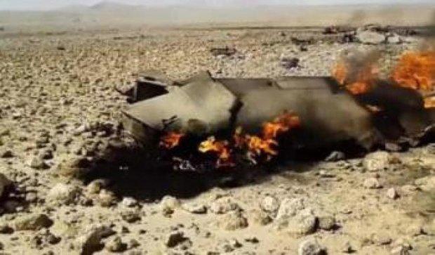 Крах сирійського винищувача: рятувальники знайшли пілота