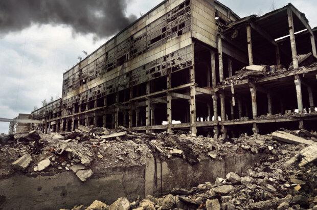 разрушенный завод, иллюстративное фото из свободных источников