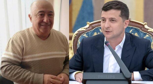 Олександр і Володимир Зеленські, фотоколаж znaj.ua