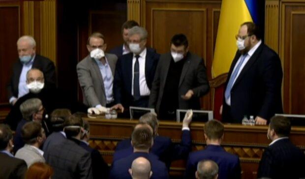 Верховна Рада України, скріншот з відео