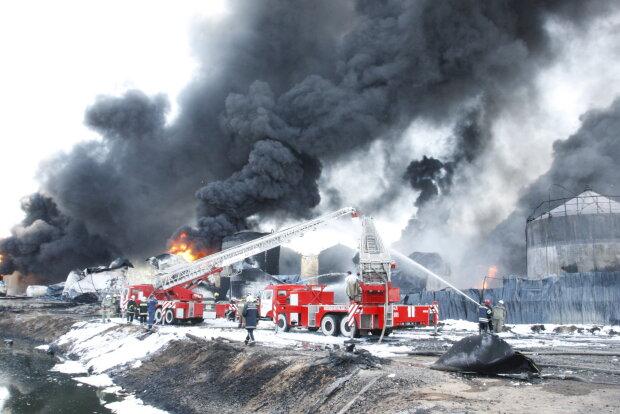 Пожежа в Глевасі, фото: МВС