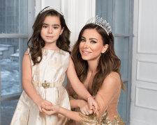 Ані Лорак з донькою Сонею