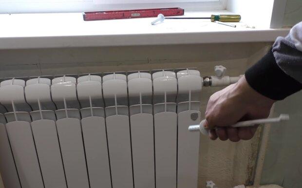 Батареи отопления, кадр из видео