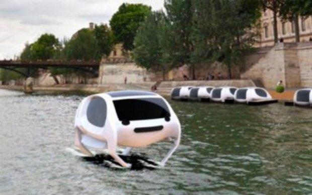 Парижскую Сену заполнят летающие такси