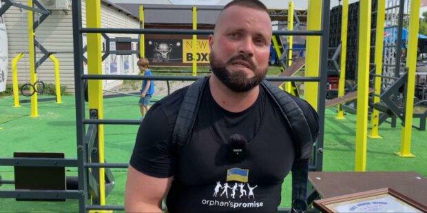 Спортсмен без руки из Запорожья побил рекорд Украины - 250 килограммов одной правой