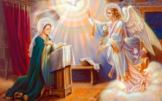 Благовіщення Пресвятої Богородиці 25 березня: традиції та символи свята