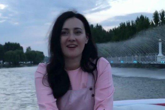 Соломія Вітвіцька, скріншот з відео