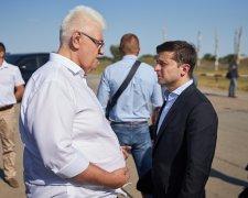Сергій Сівохо і Володимир Зеленський