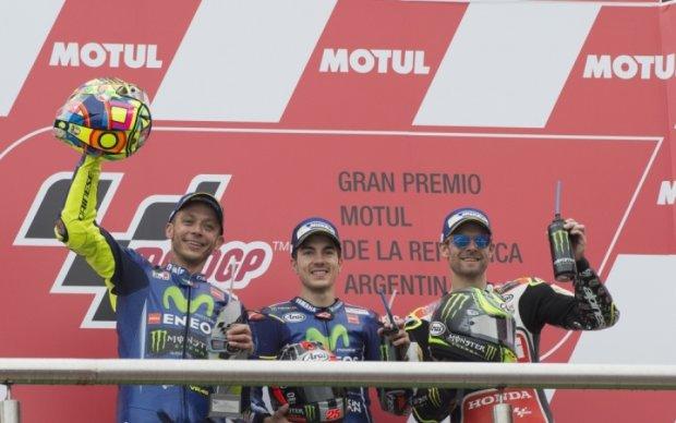 MotoGP: Виньялес - первый на Гран-при Аргентины
