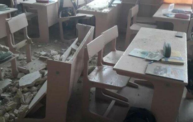 Рухнувший в школе потолок мог похоронить под собой детей: родители скандалят на всю Украину