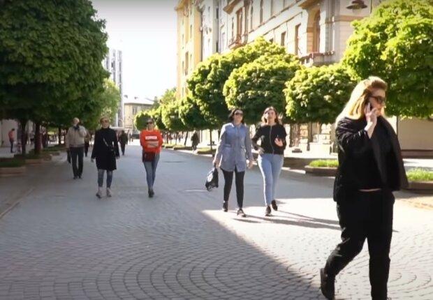 вулиці Києва, скріншот з відео