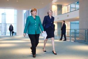 Ангела Меркель та Тереза Мей