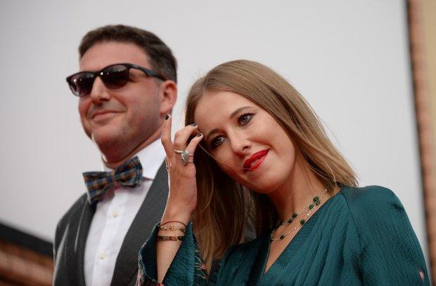 Щаслива Собчак уперше прокоментувала розлучення: сплю, з ким хочу