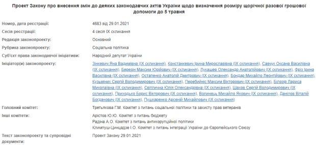 Законопроект 4683 - скріншот