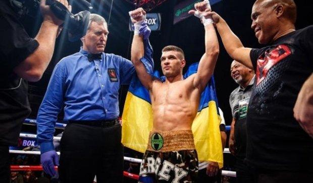 Українець Дерев'янченко побив ямайського боксера