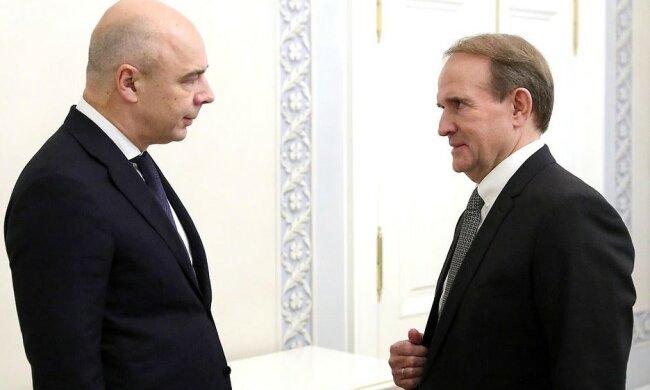 Медведчук и Путин, пресс-служба ОПЗЖ