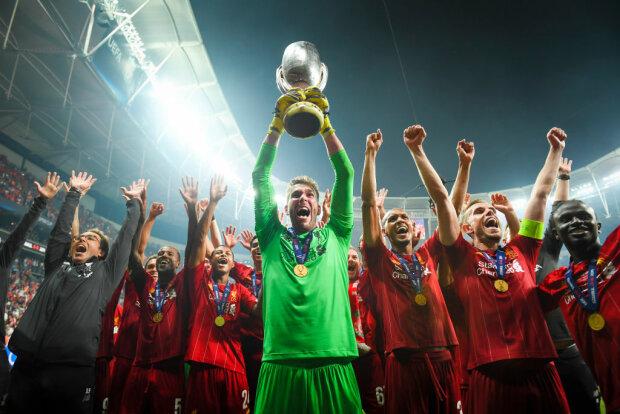 Ливерпуль - обладатель Суперкубка УЕФА, Getty Images