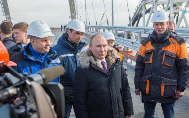 Украина в опасности: россияне достраивают Крымский мост