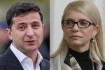 Зеленський і Тимошенко, колаж znaj.ua