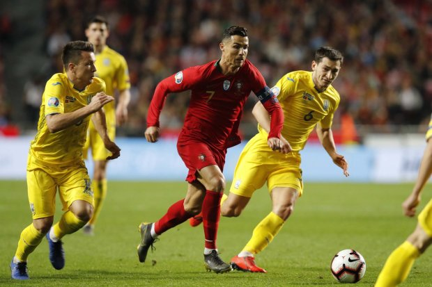 Названо найкращого гравця матчу Португалія - Україна: не Роналду і не Зінченко